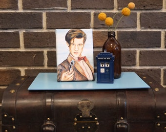 Mini Canvas of The Eleventh Doctor from Doctor Who