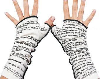 Les Miserable Writing Gloves