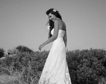 Wedding Dress Strapless, Lace Wedding Dress, Bohemian Bridal Gown, Rustic Wedding, Boho Wedding, Wedding Dress, Handmade, SuzannaM Designs