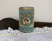 1915 Epsom Salt container