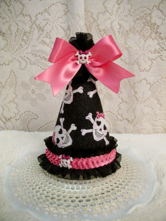 Monster high all fabric party hat monster high birthday for Monster themed fabric