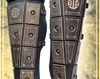 Nomad Armor - Greaves