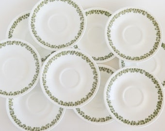 CORELLE Crazy Daisy Saucers Set of 10