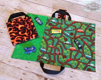 car track playmat fold up car mat matchbox car case fun gifts for