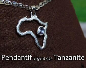 Africa Tanzanite pendant