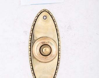 Antique Beaded Door Bell Button 530506