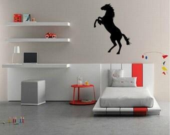 Horse Wall Decal - Horse Decal - Kids Room - Horses - Horse Wall Art