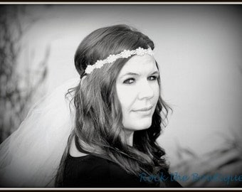Bachelorette Veil, Bachelorette Party,  Communion, Bride Headband, Perfect for Bachelorette Parties, Dress Up, Communions, Photography, Fun