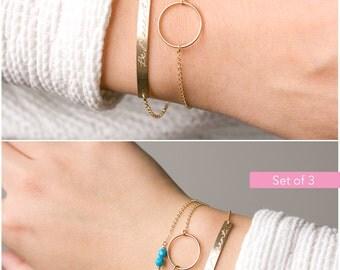 Gold Bar Bracelet, Engraved Bracelet, Graduation Jewelry, Bridesmaid Gift, Initial Personalized Bracelet, Name Plate Bracelet M440