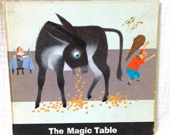 "1966 ""The Magic Table"" by Barbara Hanford Hardcover Book"