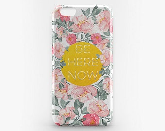 Custom iPhone 8 Case Flower iPhone X Case Quote iPhone 7 Plus Transparent iPhone 6 Case Clear iPhone 7 iPhone SE Case iPhone 5 Galaxy S8