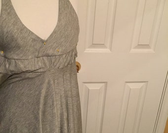 Small Casual low back dress