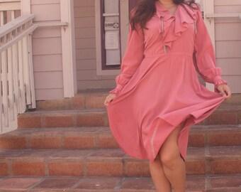 Dusty Pink Dress (Medium/Large)