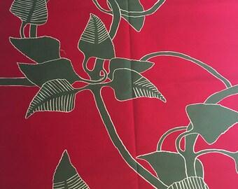 "Marimekko ""Irmeli"" 100% cotton fabric, by the yard"