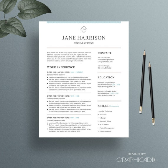 Cv Cover Letter Nz: Resume Template Cover Letter Template Word Resume By