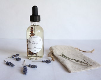 Infused Body Oil - Lavender