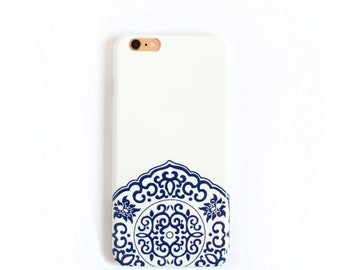 Porcelain Print iPhone 7 Case Blue and White iPhone 5S, SE, iPhone 6S Plus Case China Pattern
