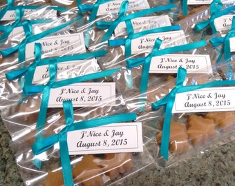 Maple Sugar Leaf Candies - 10 packages of 3 candies/ Wedding Favor/ Vermont Maple Syrup/Baby Shower/bridal shower/Stocking stuffer
