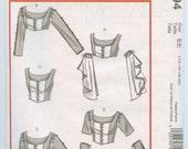 McCall's 4994 Renaissance Medieval Princess Line Laced Bodice Tops Size 14-20 UNCUT