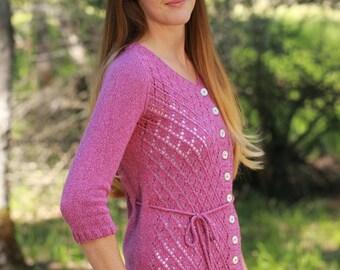 Knitting Pattern PDF - Elwell Cardigan