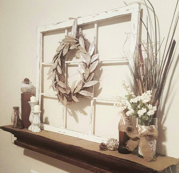 Faux Window Frame - Home Decor