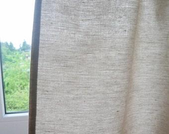 Linen window panels – Etsy UK