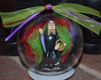 Snow White's Witch Ornament