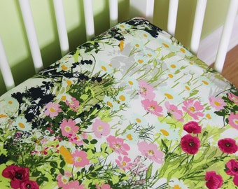 Fitted crib sheet, Crib bedding, Art Gallery Fabric, Lavish Fabric