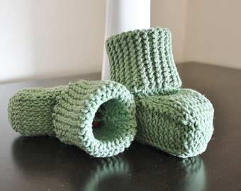 Knitted Hugg Booties