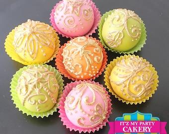 Moroccan Inspired Cake Truffles (1 Dozen)