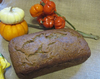 Homemade Banana Bread, 2 pound loaf, bakery fresh, Banana Nut Bread