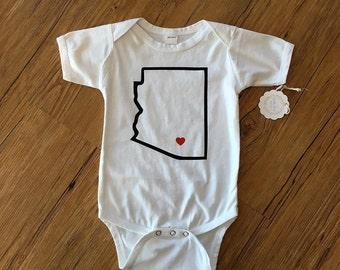 Tucson love onsie or T-shirt