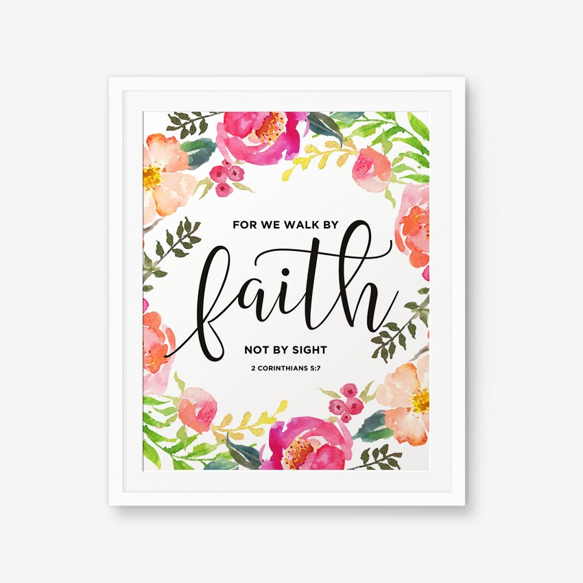 how to walk by faith not by sight