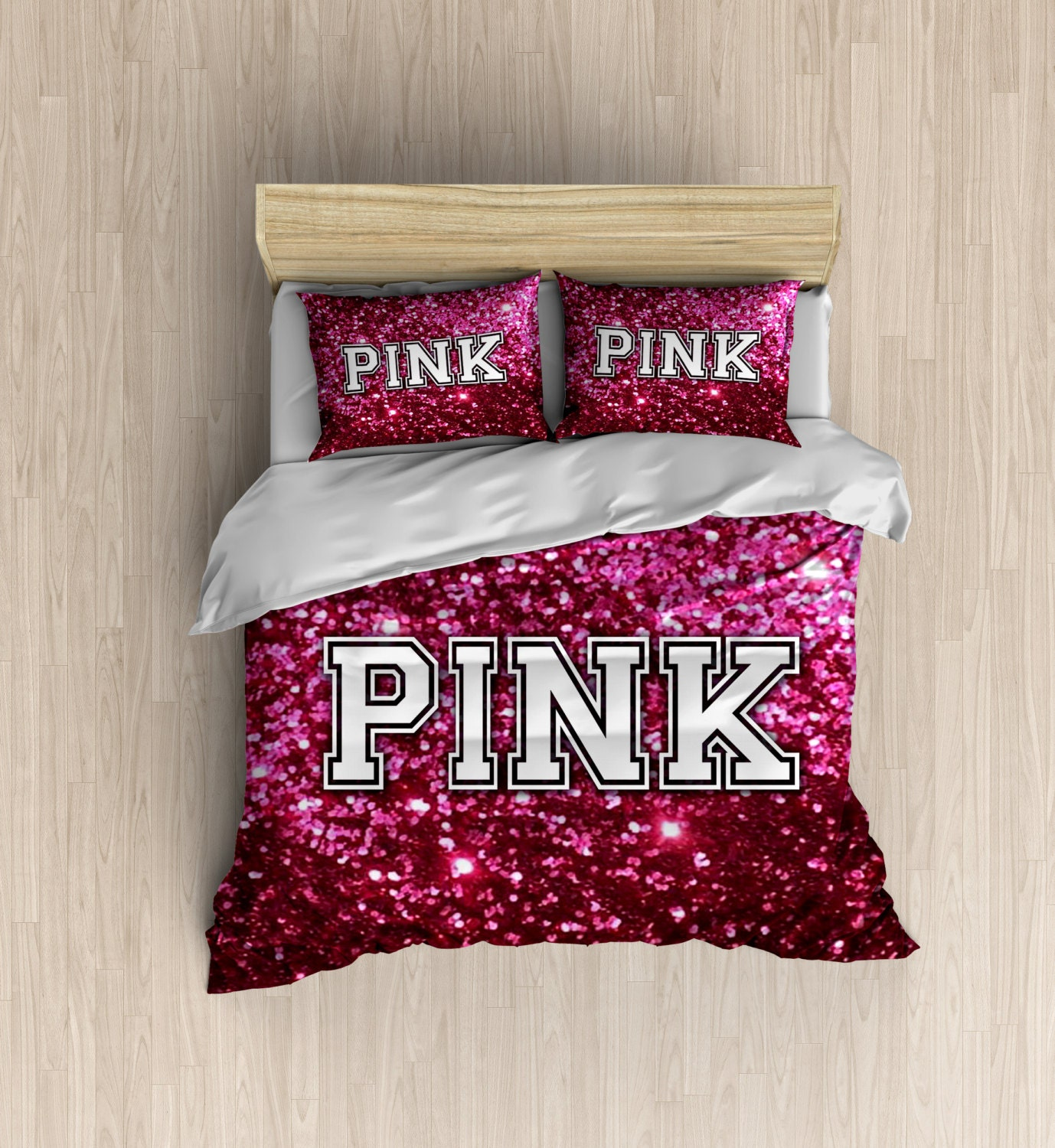 victoria secret pink bedding vs like duvet cover by. Black Bedroom Furniture Sets. Home Design Ideas