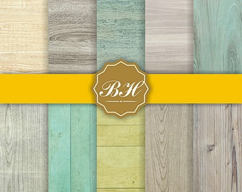 Birch Wood Digital Paper, Rustic Wood Grain Pattern, Wood Texture Background, Wooden Background, Birch Tree Bark, Rustic Country Woodland