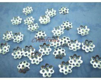 1000 silver cups 8mm