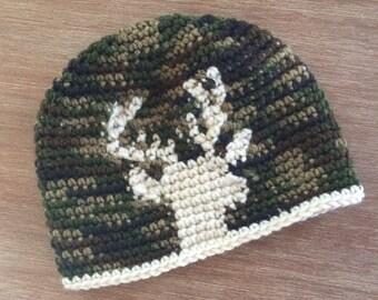 Deer Silhouette Hat