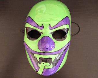 Original ICP Joker Card The Riddle Box Face Mask Juggalo Hatchetman Clown mask