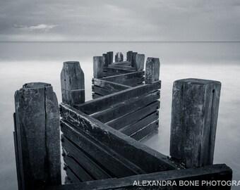Walcott Sea, Norfolk - large photo print