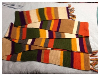 Doctor Who Fourth Doctor Series 16/ 17 Scarf