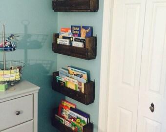 Four Book Shelves