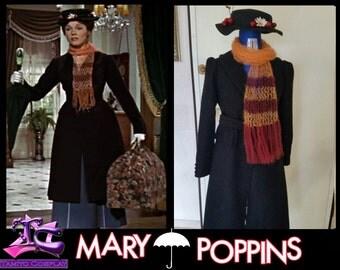 Mary Poppins Costume Cosplay Walt Disney