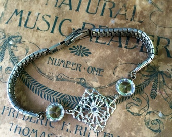 Antique Watch Band Bracelet