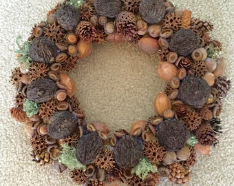 Nut & Nature Wreath