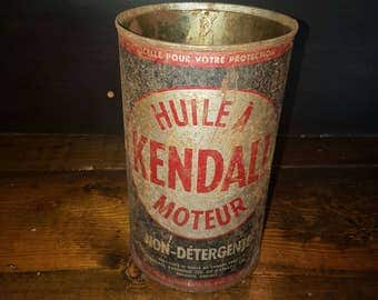 Kendall motor oil can quart