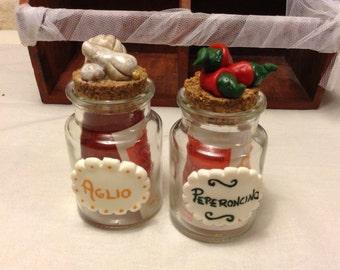 Spice glass jar-glass jar for spices