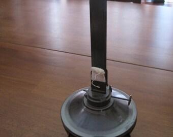 Vintage metal Kaadan ltd oil lantern lamp