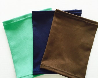3 pack picc line covers-bright green, navy and brown covers to go with a variety of outfits!