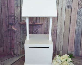 Budget White Timber Wishing Well , Wedding or Engagement Party
