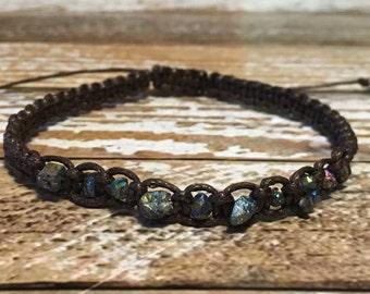 Sapphire Chakra Healing Bracelet / Healing Crystal Bracelet / Chakra Bracelet / Healing Bracelet